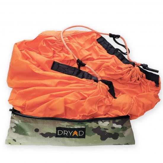 The Dryad Saddle Hunting System in Blaze Orange